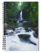 Glencar, Co Sligo, Ireland Waterfall Spiral Notebook