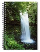 Glencar Waterfall, Yeats Country, Co Spiral Notebook