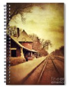 Glencoe Train Station Spiral Notebook