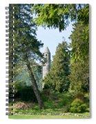 Glendalaugh Round Tower 11 Spiral Notebook