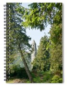 Glendalaugh Round Tower 12 Spiral Notebook