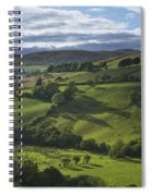 Glenelly Valley, County Tyrone Spiral Notebook