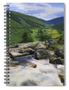 Glenmacnass, County Wicklow, Ireland Spiral Notebook