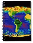 Global Biosphere Spiral Notebook