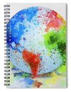 Globe Painting Spiral Notebook