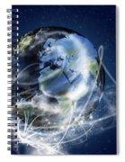 Globe Spiral Notebook
