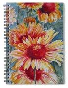 Glorious Gallardias Spiral Notebook
