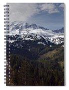 Glorious Mount Rainier Spiral Notebook