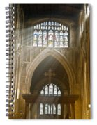 Glorious Rays Of Heavenly Light Spiral Notebook