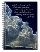 Glory Of The Lord Spiral Notebook