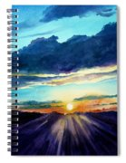 Glory Of The Sunset 2 Spiral Notebook