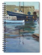 Gloucester Harbor Spiral Notebook