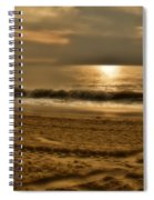 Glowin' Ocean Spiral Notebook