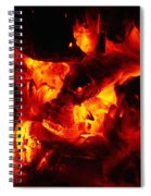 Glowing Ashes Spiral Notebook