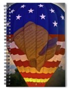 Glowing Constitution Spiral Notebook