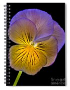 Glowing Peony Spiral Notebook