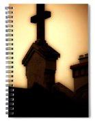 Glowing Resurrection Spiral Notebook