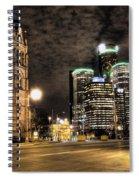 Gm Building Detroit Mi Spiral Notebook