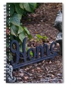 Gnomes At Home Spiral Notebook