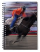 Rodeo Go For Broke Spiral Notebook