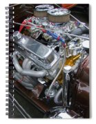 1938 Ford Roadster Go Power Spiral Notebook