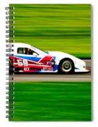Go Speed Racer Go Spiral Notebook