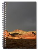 Go To The Light Spiral Notebook