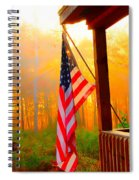 God Country Home Spiral Notebook
