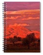 God's Light Spiral Notebook