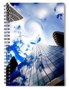 God's Wrath Spiral Notebook