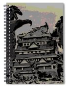 Godzilla And King Kong Hanging Out In Tokyo Spiral Notebook
