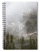 Going To The Sun Road Spiral Notebook