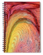 Going With The Flow Spiral Notebook