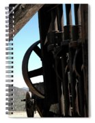 Gold Mining Stone Crusher Spiral Notebook
