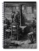 Gold Rush: Miners, 1887 Spiral Notebook