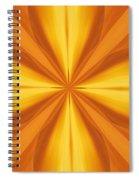 Golden 4 Leaf Clover  Spiral Notebook