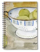 Golden Apples Spiral Notebook