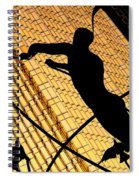 Golden Art Spiral Notebook