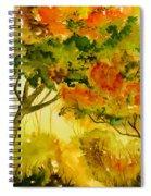 Golden Autumn Day Spiral Notebook