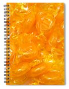 Golden Butterscotch Spiral Notebook