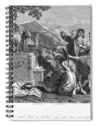 Golden Calf Spiral Notebook