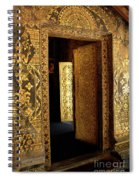 Golden Doorway 2 Spiral Notebook