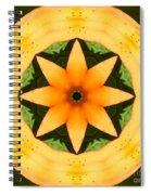Golden Flower 2 Spiral Notebook