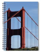 Golden Gate North Tower Spiral Notebook