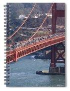 Golden Gate Traffic Spiral Notebook