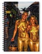 Golden Girls Of Bourbon Street  Spiral Notebook