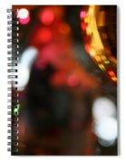 Golden Globe Spiral Notebook