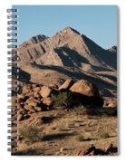 Golden Gold Butte Spiral Notebook