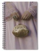 Golden Handbag Spiral Notebook