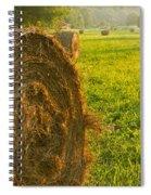 Golden Hay Field Spiral Notebook
